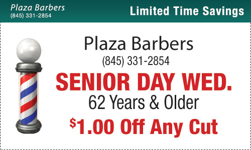 Wednesdays Are Senior Days – Take $1 Off Any Cut