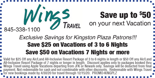Save up to $50 On Your Next Vacation