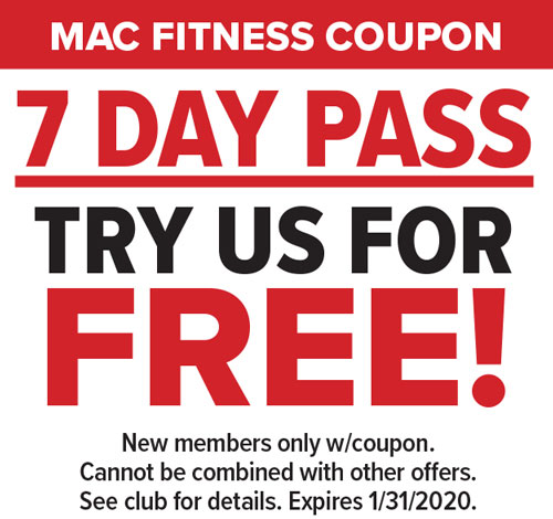 7 Days Free at Mac Fitness