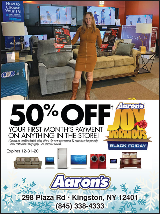 50% Off Your First Month's Payment On Anything In-store